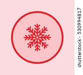 snowflake icon | Shutterstock .eps vector #530994817