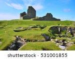 jarlshof prehistoric village ... | Shutterstock . vector #531001855