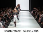 fashion show  catwalk runway... | Shutterstock . vector #531012505