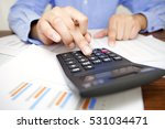 accounting  calculation | Shutterstock . vector #531034471