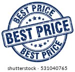 best price. stamp. blue round... | Shutterstock .eps vector #531040765