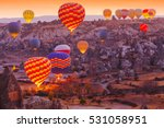 beautiful vibrant colorful... | Shutterstock . vector #531058951
