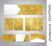 christmas banner  flyers ...   Shutterstock . vector #531079405