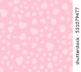 seamless patterns with pink... | Shutterstock .eps vector #531079477