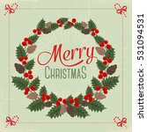christmas card | Shutterstock .eps vector #531094531