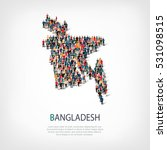 people map country bangladesh... | Shutterstock .eps vector #531098515