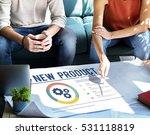 new product development success ... | Shutterstock . vector #531118819
