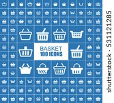 basket  buy  retail and sale... | Shutterstock .eps vector #531121285