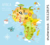 vector illustration map of... | Shutterstock .eps vector #531128191