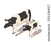 isometric 3d vector...   Shutterstock .eps vector #531136417