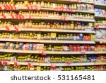 blurred image of vitamin store... | Shutterstock . vector #531165481