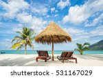 vacation in tropical countries. ... | Shutterstock . vector #531167029