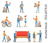 different delivery service... | Shutterstock .eps vector #531167515