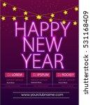 happy new year   merry...   Shutterstock .eps vector #531168409