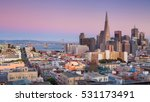 san francisco. panoramic image... | Shutterstock . vector #531173491