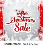 after christmas sale banner | Shutterstock .eps vector #531177667
