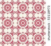 decorative seamless pattern ... | Shutterstock .eps vector #53118973