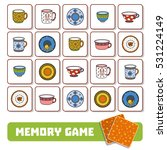 memory game for preschool... | Shutterstock .eps vector #531224149