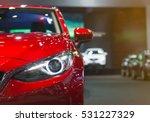 headlight lamp of new cars copy ... | Shutterstock . vector #531227329