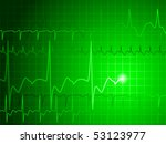 medical background with green... | Shutterstock .eps vector #53123977