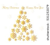 merry christmas card | Shutterstock .eps vector #531252079