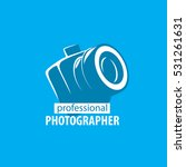 logo camera the photographer | Shutterstock .eps vector #531261631