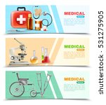 healthcare online 3 medical... | Shutterstock .eps vector #531275905