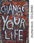 Graffiti Of The Berlin Wall