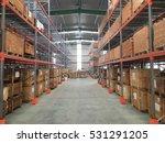 interior of warehouse | Shutterstock . vector #531291205