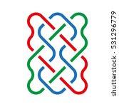 celtic pattern. element of... | Shutterstock .eps vector #531296779