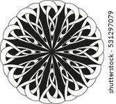 round celtic pattern. element...   Shutterstock .eps vector #531297079