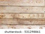 close up wooden strip exterior... | Shutterstock . vector #531298861