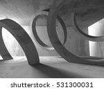abstract concrete architecture... | Shutterstock . vector #531300031