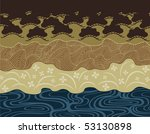 vector pattern including ethnic ...   Shutterstock .eps vector #53130898
