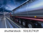 3d rendering of tanker on the