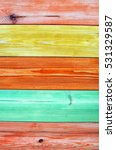 Colorful Wooden Texture...