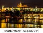 Night In Prague  Czech Republic