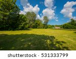 Clouds And Forest Landscape In...