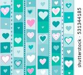 valentine's background.... | Shutterstock .eps vector #531344185