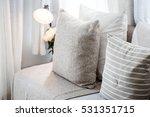 contemporary interior of living ... | Shutterstock . vector #531351715