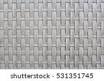 Gray Rattan Texture