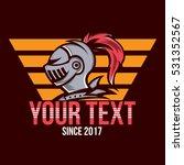 knight logo  classic logo | Shutterstock .eps vector #531352567