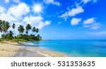 paradise nature  sea on a... | Shutterstock . vector #531353635