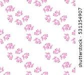 elegant seamless pattern with...   Shutterstock .eps vector #531354907