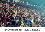defocused background of crowd... | Shutterstock . vector #531358669