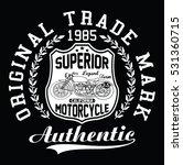 california motorcycle ... | Shutterstock .eps vector #531360715