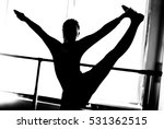 girl dancing. beautiful girl...   Shutterstock . vector #531362515