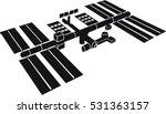 international space station   Shutterstock .eps vector #531363157