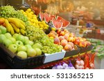 Assortment Of Fresh Fruits At...