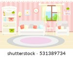 living room interior with... | Shutterstock .eps vector #531389734
